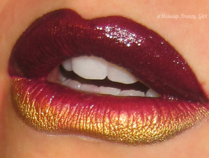 IG: Makeup_Frenzy_Girl FB: Makeup Frenzy Used OCC Lip tar in black dahlia and sugarpill goldilux