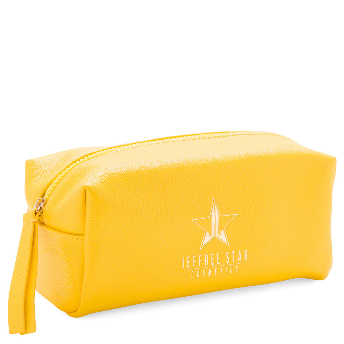Jeffree Star Cosmetics Accessory Bag Yellow product smear.