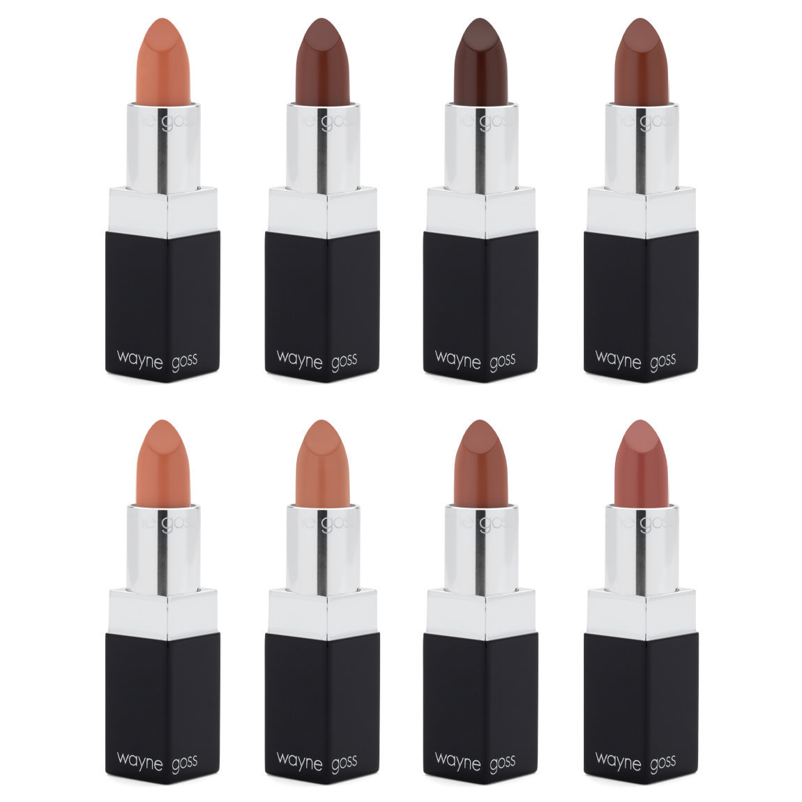 Wayne Goss The Nude Luxury Cream Lipstick Collection alternative view 1 - product swatch.
