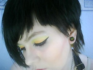 Yellow & Orange Eyeshadows