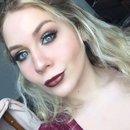 Glittery Fall Makeup