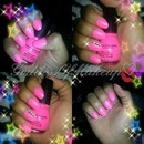 Barbie Pink Almond Shape Nails