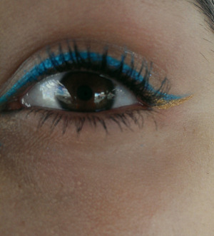 eyeliner I did for a day out :)