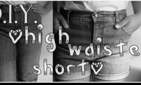 DIY: High Waisted Short
