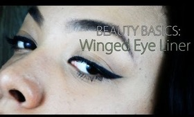 Beauty Basics: Winged Eyeliner