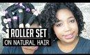 Perm Rod Set On Natural Hair : FAIL? | Jessica Chanell
