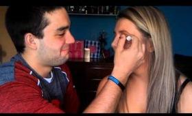 TAG: Boyfriend Does My Makeup !