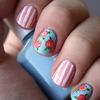 stripes & roses