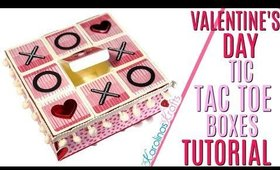 DIY Tic Tac Toe Box for Valentines Day,  DAY 11 of 14 Days of Crafty Valentines Day