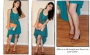OOTD High Low Dress, Clutch Giveaway ... Just Subscribe and Comment!