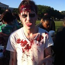 Zombie crawl on the national mall
