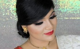Bengali New Year Makeup Tutorial || পহেলা বৈশাখের সাজ ||