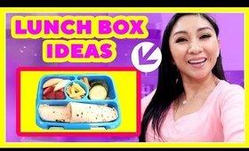 KIDS' SCHOOL LUNCH BOX IDEAS!