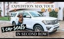 CAR TOUR! 2018 FORD EXPEDITION MAX: FAMILY OF 5 | Kendra Atkins