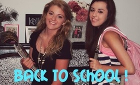 Back to School Easy Makeup & Hair