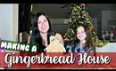 MAKING A GINGERBREAD HOUSE | Vlogmas Day 15