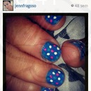 dot nails.