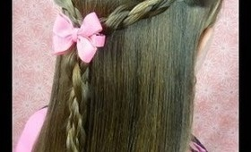 """Magnet Braids"" Tutorial, Half Up Hairstyles"