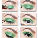 Easy Lime Green Makeup