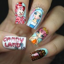 Candy Land Nails