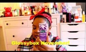 Glossybox November!!!