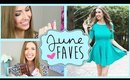 JUNE 2014 FAVORITES || Makeup, Hair, Fashion & More! - RachhLoves