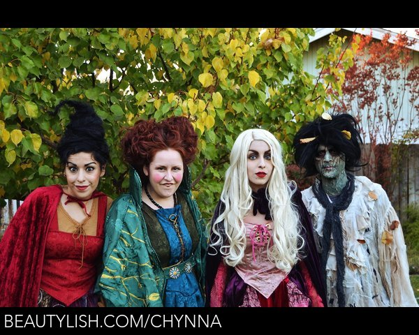 Hocus Pocus Sanderson Sisters Billy Butcherson Halloween