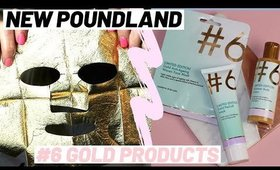 NEW POUNDLAND #6 LIMITED EDITION GOLD SKINCARE, BODY PRODUCTS & DEMO