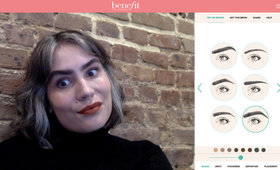 I Tried Benefit's Virtual Brow Try-On—Here's What Happened
