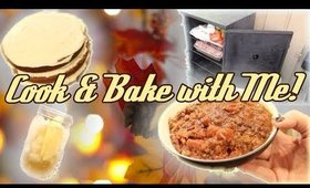 COOK & BAKE with Me for a FALL FAMILY PARTY!!