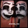 Halloween Comedy/Tragedy Mask