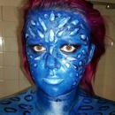 Mystique Inspired Makeup (Xmen) - $20 Cosplay Challenge
