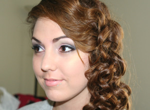 Prom makeup & hair