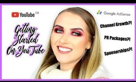 GETTING STARTED ON YOUTUBE?! HOW TO | shivonmakeupbiz