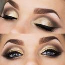 Bronzy Eyemakeup Look :)