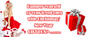 Check what's inside this Christmas & New Year Gift Box.  http://www.uniqso.com/uniqso-gift/christmas-new-year-gift-box