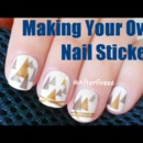 DIY Nail Stickers Design