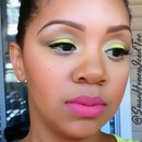 Light bright green