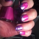 Pink/ Purple Sparkle French