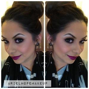 @arielhopemakeup Instagram : @ariel_hope Limecrime Poisonberry Lipstick