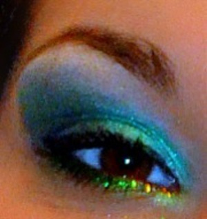St paddy's day look on a friend