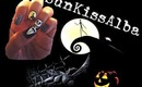 Nightmare Before Christmas Inspired Nails | SunKissAlba