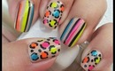 Nail Art - Neon and Nude - Decoracion de Uñas