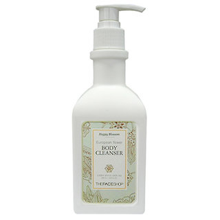 The Face Shop Happy Blossom European Flower Body Cleanser