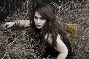 Model: Holly Ashman Photographer & Make-Up: Simone Kelly  © Simone Kelly, 2012 Moral Rights Asserted.