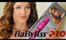 How I curl my Hair + GIVEAWAY Babyliss Pro Porcelain Conical Wand | OPEN