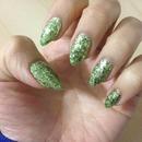 Christmas nails (Dec 2012)