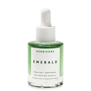 Herbivore Emerald CBD + Adaptogens Glow Oil