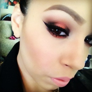 Makeup from yesterday!