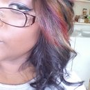 fall colored hair in the spring!